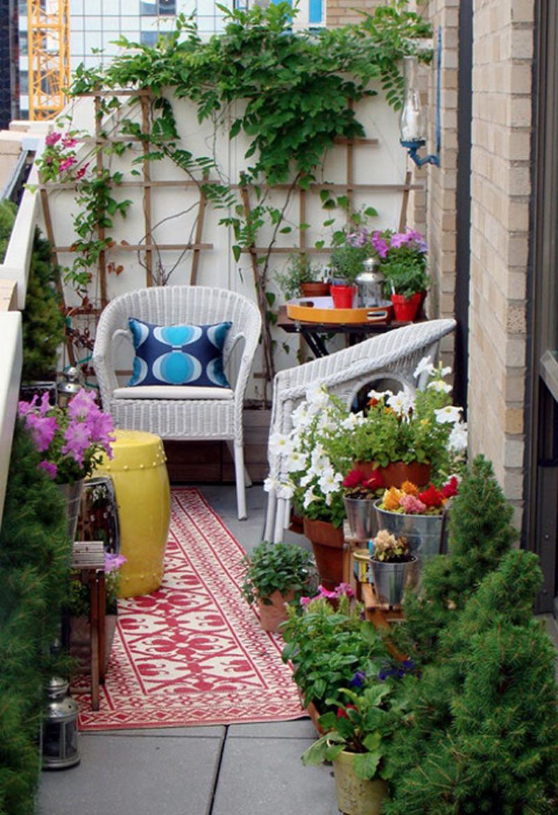 Дизайн балкона террасы