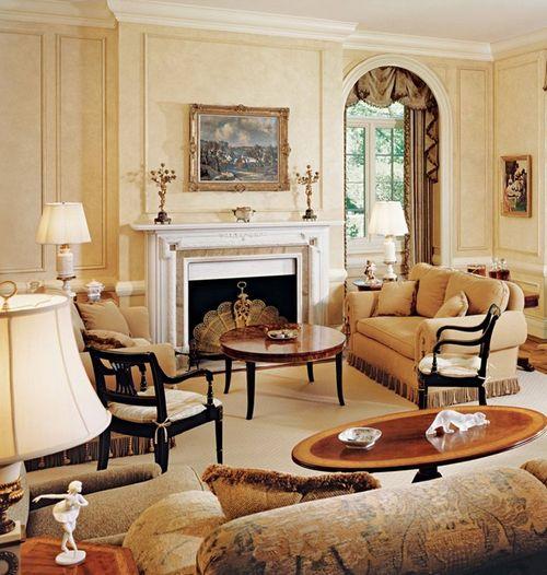 2016 klasik tarz dekorasyonlu salonlar cool kad n for L salon dekorasyonu