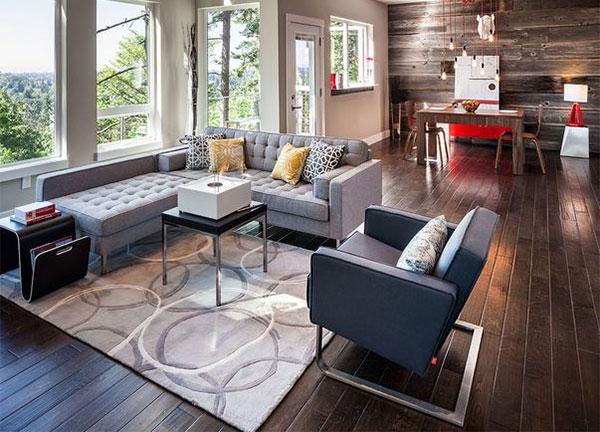 L koltuk ile salonlar n z daha kullan l cool kad n for L salon dekorasyonu