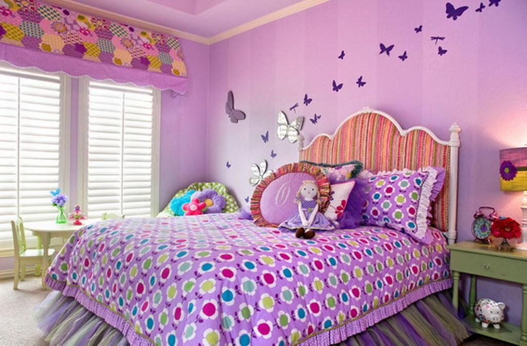 Butterfly Bedroom Decorating Ideas: 2016'nın En Güzel Çocuk Nevresim Takımları