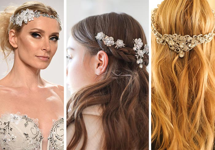 fall_2017_bridal_makeup_hairstyles_beauty_trends_vintage_hair_accessories_jewelry