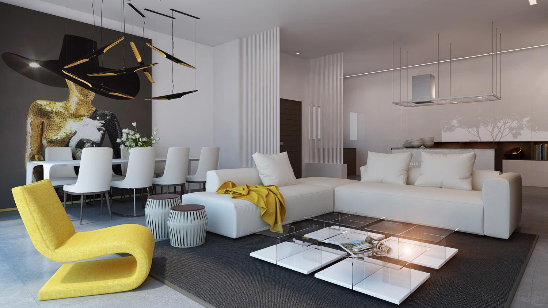 minimalist-salon-dekorasyon-tarzi
