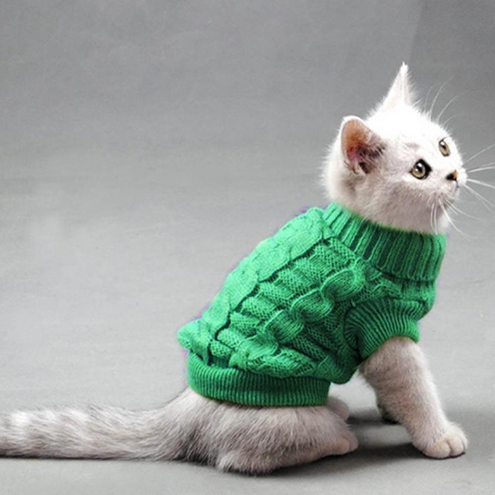 Вязание кофта для кошки 783
