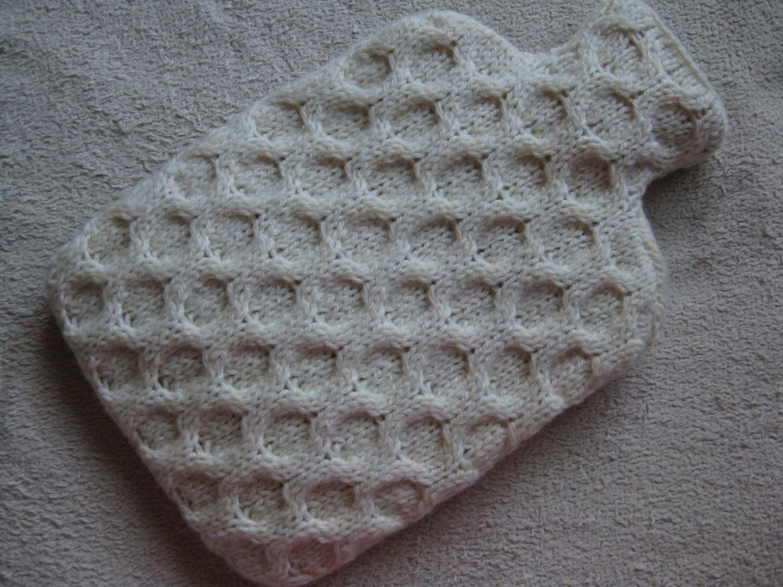 Lujoso Free Knitting Pattern Hot Water Bottle Cover Colección de ...