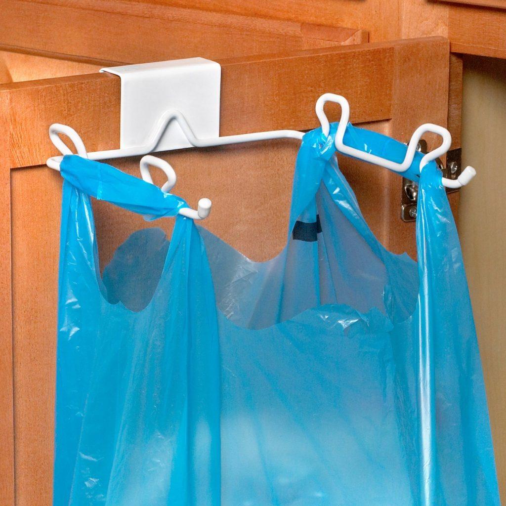 Как сделать юбку из мусорных пакетов / Всё о рукоделии! 736