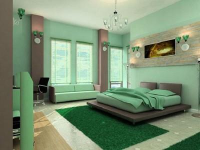 Yatak-Odasında-Yeşil