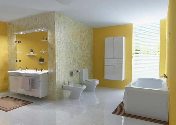 banyo sarı