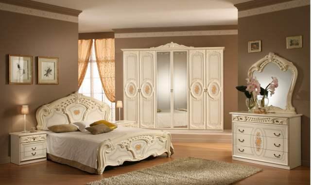 yeni-moda-klasik-tarz-yatak-odası-dekorasyonu