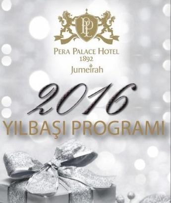 Pera Palace Hotel Jumeirah Yılbaşı 2016